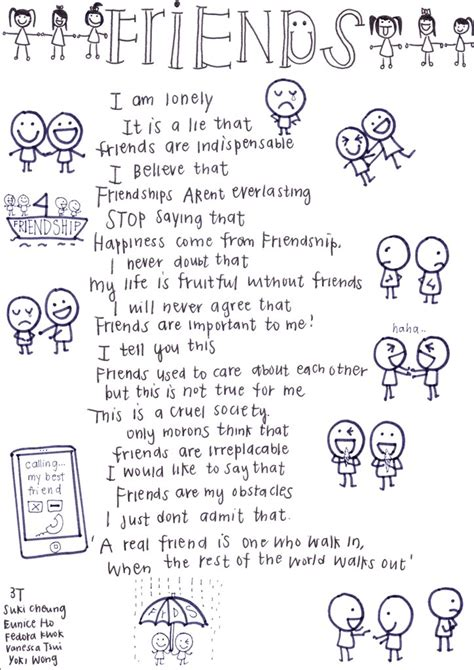 Reverse Poem Friends Read Normal Than From The Bottom Up Reverse Poems Poems Friendship Reversal Poem Template