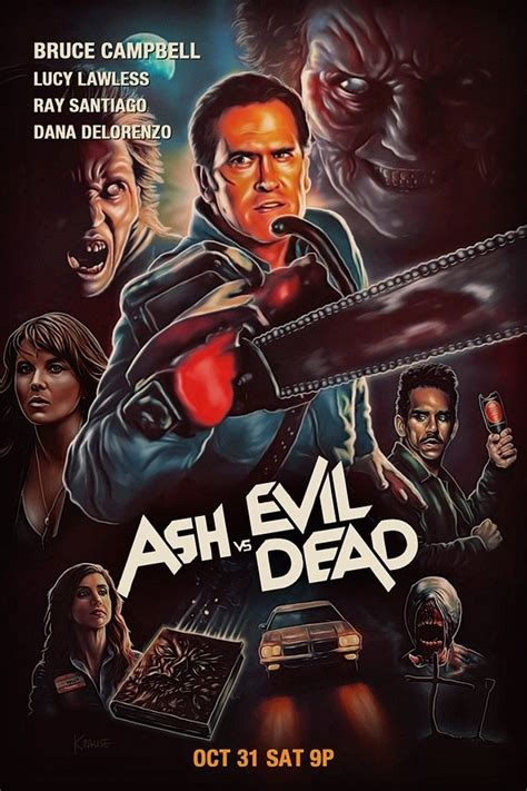 film ash vs evil dead welcome2creepshow ash vs evil dead poster by kynky