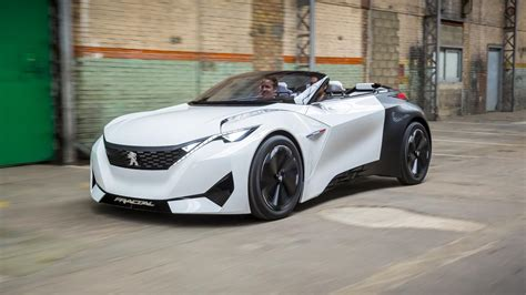 is peugeot a car peugeot fractal futuristic electric car concept