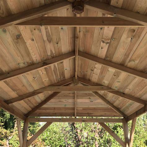 gazebo grande grande open wooden gazebo 2 9x4 9m