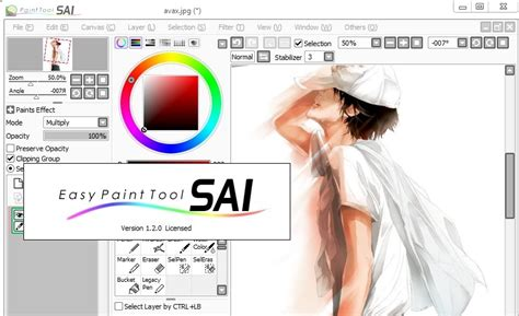 paint tool sai free newest version paint tool sai version 2 prioritylogo