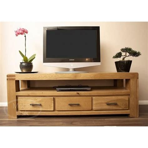 Design For Oak Tv Console Ideas 20 Inspirations Large Oak Tv Stands Tv Cabinet And Stand Ideas