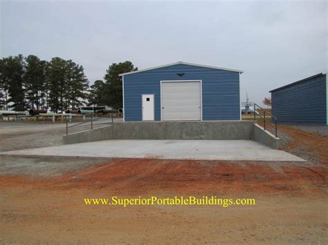 Garages And Barns georgia concrete loading dock