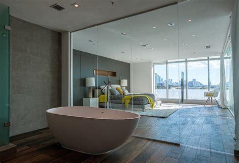 glass wall between bedroom and bathroom outstanding clear glass wall divider bathroom and bedroom