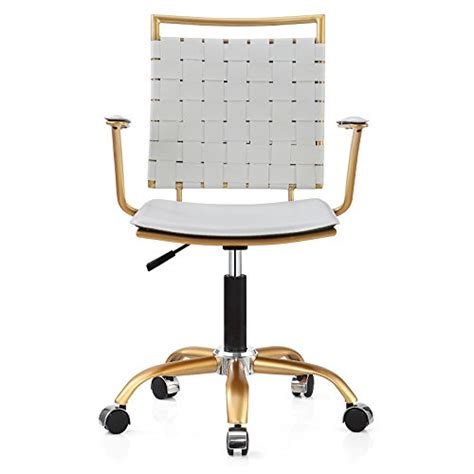 white gold office chair meelano 356 gd whi office chair white gold buy