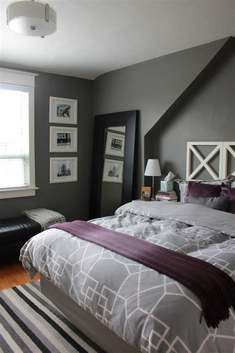 gray and purple bedrooms category bedroom the science of married