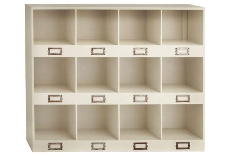 Cubby Organizer Wall Shelf by 12 Cubby Wall Shelf Wall Storage From One