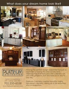 platinum cabinetry s flyer ideas clark county graphics