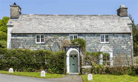 Hardy Cottage by Vicarage In Cornwall Where Hardy Stole Another