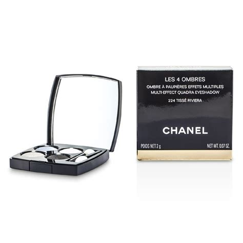 chanel les 4 ombres 224 tiss riviera review swatches chanel les 4 ombres quadra eye shadow no 224 tisse