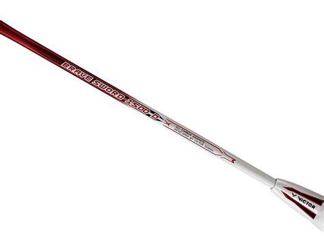 Raket Victor Brave Sword 1500 brave sword 1500d raket produk victor indonesia