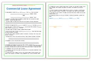 commercial lease agreement template templates platform