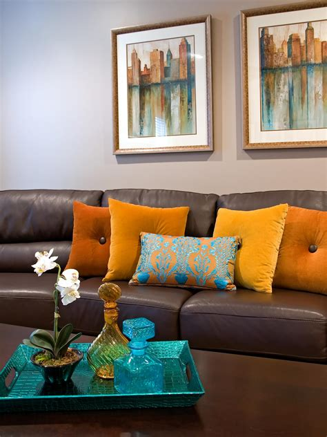 living room pillow photos hgtv