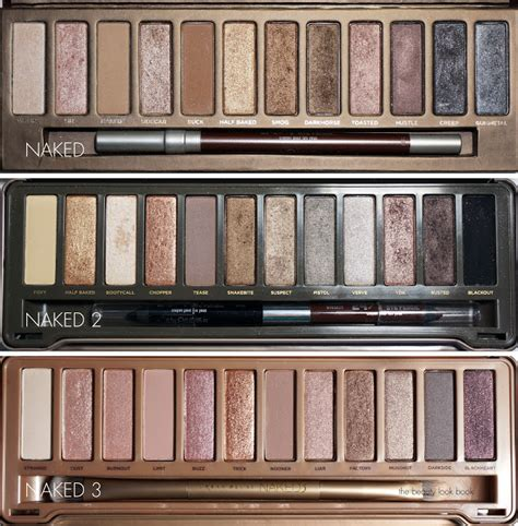 S Dapat Back Naked4 4 Eyeshadow Pallete the look book decay naked3 palette