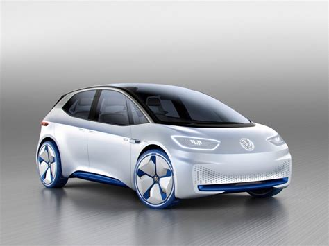 Volkswagen Id Electric Concept Car Paris Motor Show