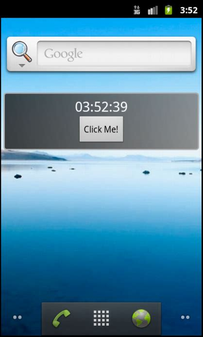 widget android how to code an android widget sitepoint