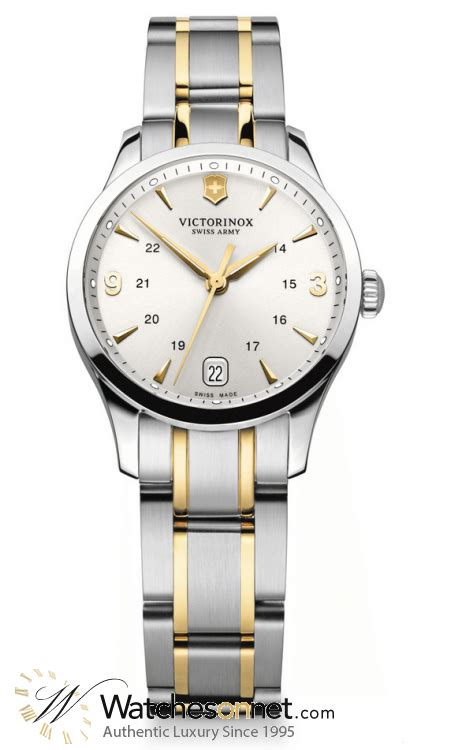 victorinox swiss army alliance 241543 s gold plated