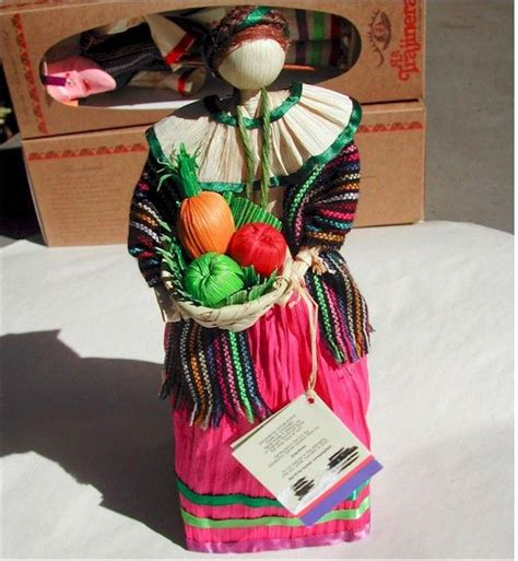 corn husk dolls mexico fruits basket baskets and mexican corn on