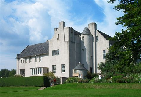 House Hill to the hill house helensburgh by charles rennie
