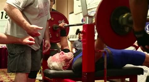 old bench press 91 year old breaks bench press record muscle fitness