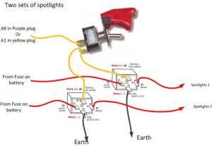 wiring diagram spotlights 5 pole relay diagram download