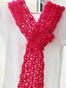 crochet dreamz alana lacy scarf free crochet pattern