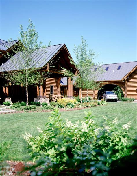 Vermont Log Homes by Hinesburg Vt Real Log Homes Vermont Log Home