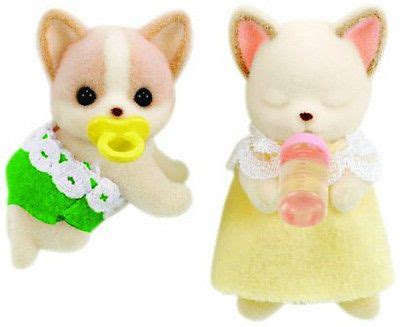 Sylvanian Families Original 3242 Chihuahua Baby 157 best images about sylvanian families on rainbow nursery ducks and sylvanian