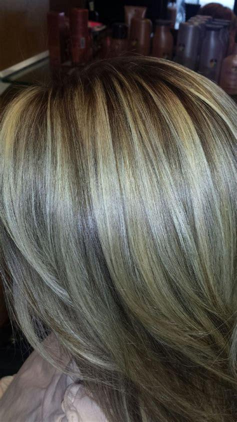 dark hair base with platinum highlights hair base with platinum highlights dark hair base with