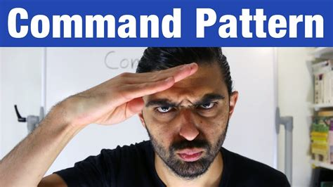 command pattern youtube command pattern design patterns ep 7 youtube