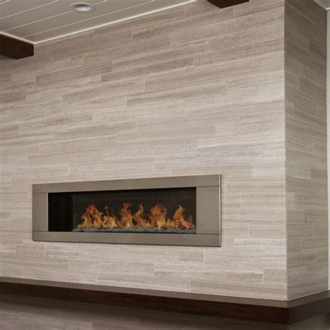 stone planks tile vein cut bedroom fireplace