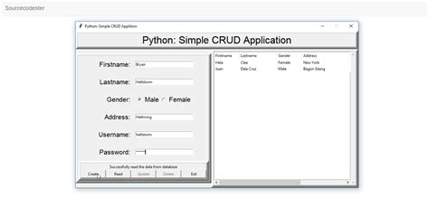 tutorial sqlite delphi python simple crud application using sqlite part 1
