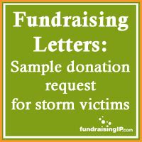 Fundraising Letter For Disaster Relief Sle Donation Request Letter Victims