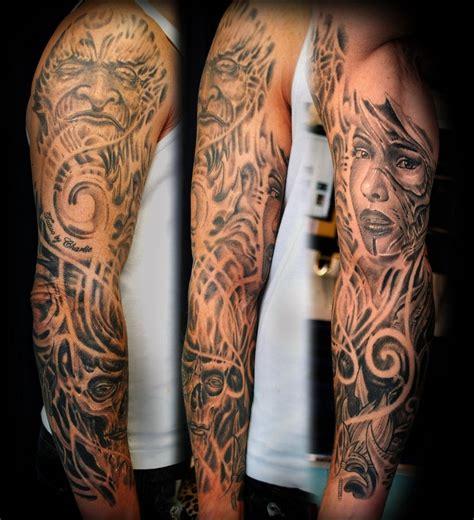 biomechanical zombie tattoo sleeve tattoo biomechanic by gettattoo on deviantart