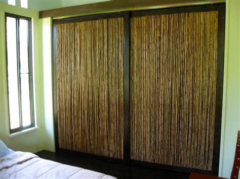 Rustic bamboo closet doors inspirations beautiful closet doors furniture wedgelog design