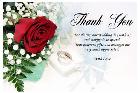 Gift Card Thank You - thank you card messages for wedding sle messages