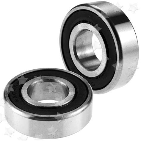 Bearing Low Speed 6205 Zz Toyo low friction 6200 6205 2rs hub rubber sealed high carbon steel bearing x2pc ebay