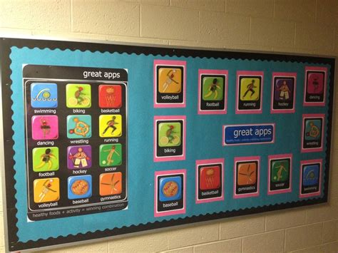 Education Board physical education bulletin board pe bullentin boards