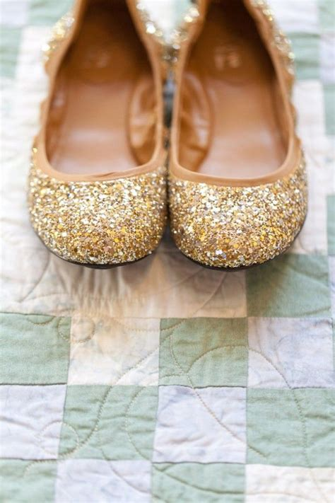 Gold Flats For Wedding by Gold Wedding Flats