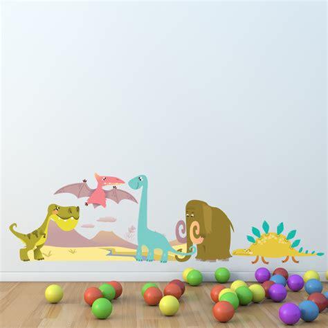 Wandtattoo Kinderzimmer Dinosaurier by Wandtattoos Folies Wandsticker Dinosaurier Set