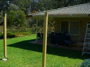 Pergola Post Supports by Building A Pergola Part 2