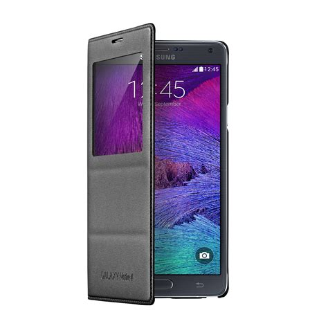 Flipcase Samsung Galaxy Note 4 samsung s view flip cover for samsung galaxy note 4 ebay