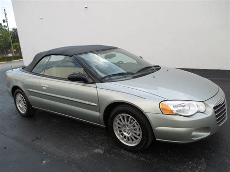chrysler sebring 2006 chrysler sebring convertible related infomation