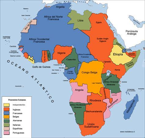 mapa dafrica politic mapa de africa division politica