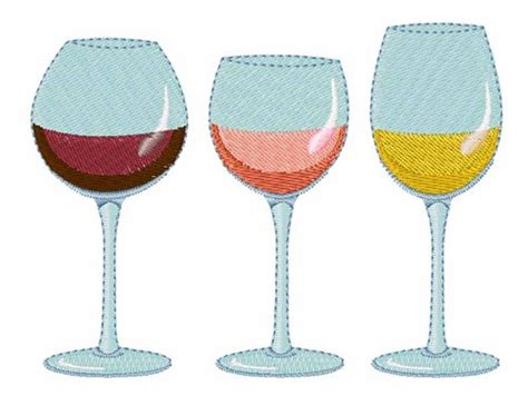 embroidery design wine glass hopscotch embroidery design wine glasses 2 85 inches h x