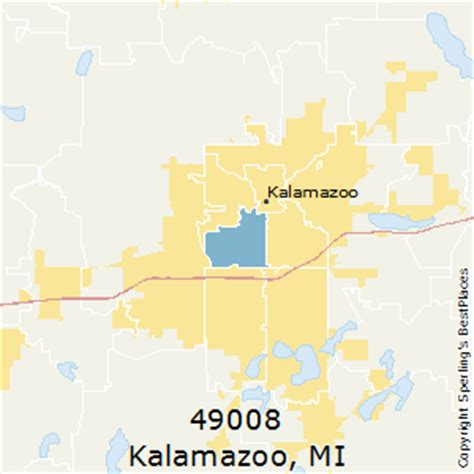 zip code map kalamazoo county best places to live in kalamazoo zip 49008 michigan