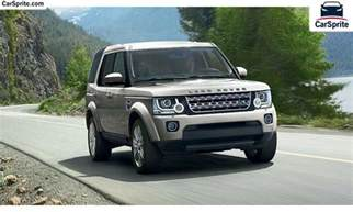 land rover lr4 2016 prices and specifications in