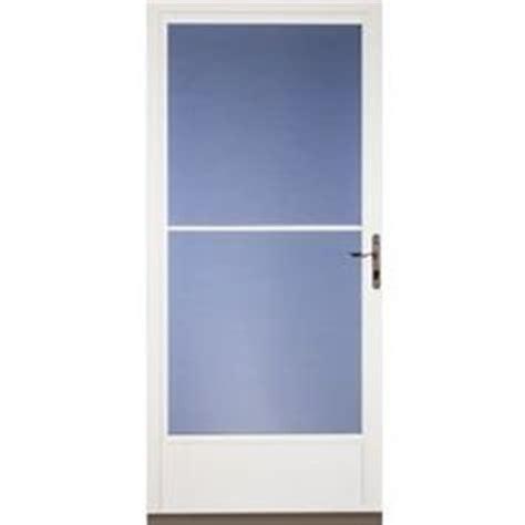 pella retractable screen door larson southport brown mid view aluminum storm door
