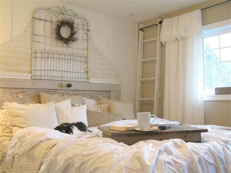 rustic chic bedroom decor decorating with white in a rustic shabby chic bedroom