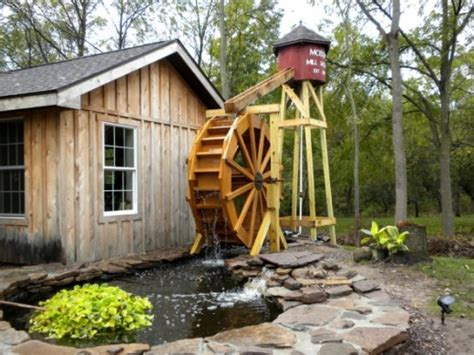 backyard water wheel building a backyard waterwheel hubpages